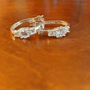 Sterling Silver .925 Cubic Zirconia Earrings